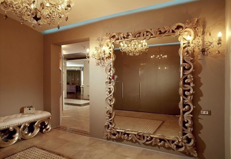 Зеркало в интерьере в Калининграде