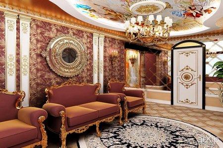 Интерьер барокко в Калининграде
