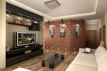 Комната в стиле лофт в Калининграде